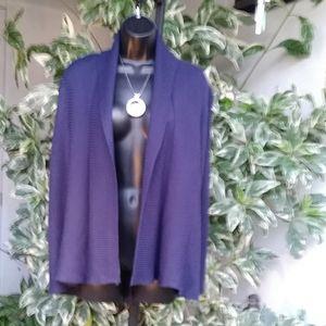 Zara Knit - Cardigan Navy Blue - Sz M